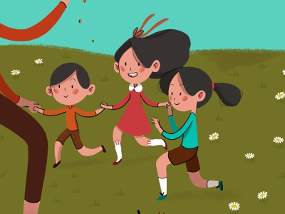 4 enteratenement entertaiment picnic learning kids art illustration children book illustration illustrations kids illustration