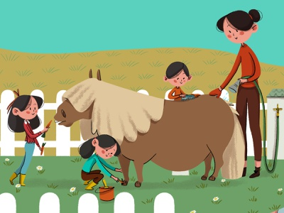 Enjoy kids art digital illustration design illustrations children book illustration kids illustration
