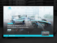 Formula E Redesign Website