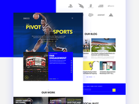 Pivot Sports Website