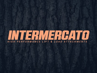 Intermercato, logo logo logotype wood