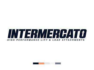 Intermercato Logo Blue logo logotype swatches