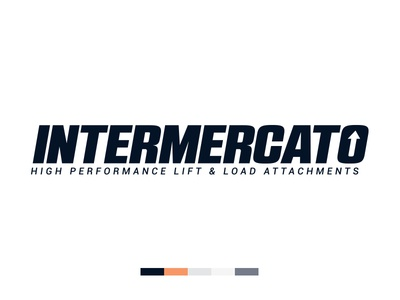 Intermercato Logo Blue logo logotype swatches