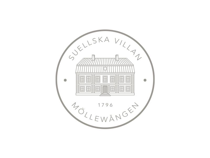 Suellska Villan - Detailed Seal logo seal