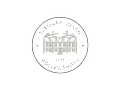 Suellska Villan - Detailed Seal logo seal