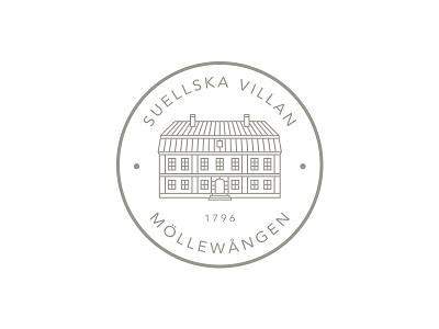 Suellska Villan - Simplified seal logo seal