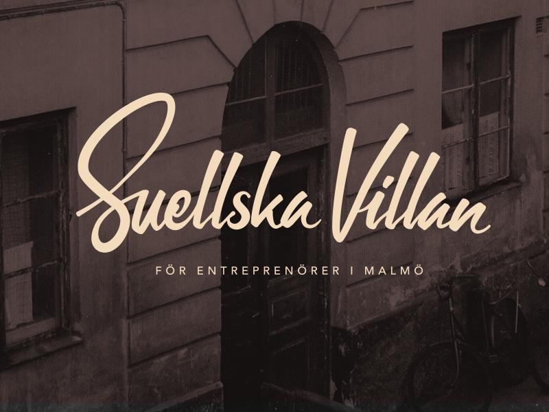Suellska Villan - Visual language logo illustration photo