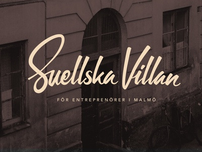Suellska Villan - Visual language logo illustration photo