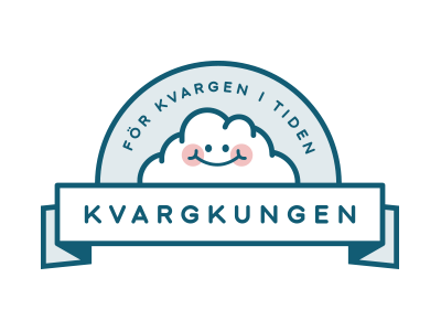 Kvargkungen logo cheese quark identity smoothies food logo