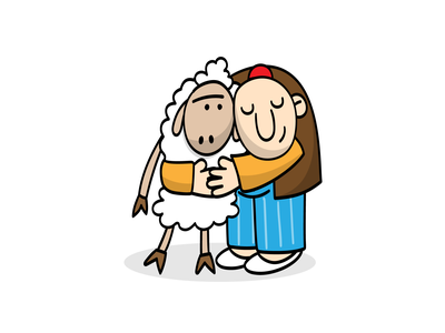 Haji Stickers: Hug