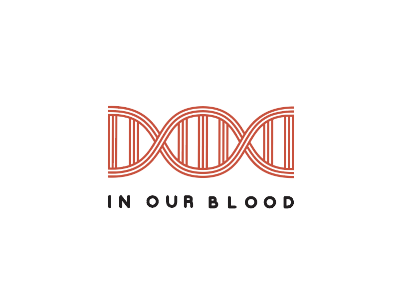 in our blood line illustration church graphic dna