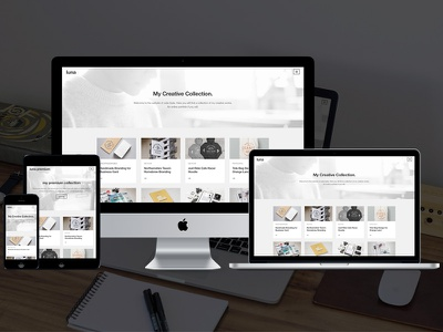 Luna - Free WordPress Theme  modern free theme wordpress creative portfolio