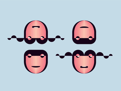 Something fun character design illustration flat geometric character design modern illustration
