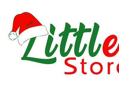 Liitle Elf Store Logo Design logo design corporate identity vectorart word logo illustrator brand identity logo