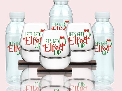 Little Elf Store Stickers Design merchandise design corporate branding corporate design colorful vector illustration sticker design product design