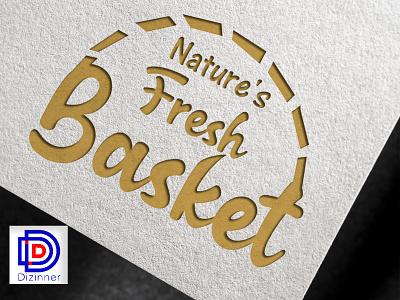 Natures fresh basket logo design logo designer creative design creative logo branding design brand design logodesign logo design logotype brand identity colorful design vector art vector illustration logo