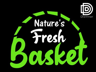 Natures Fresh Basket logo dribbble creativity creative creative logo vector illustration logo design branding logo design concept logodesign logotype logos logo design dribbleartist dribble