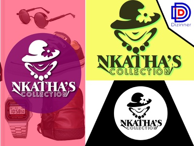 Nkatha's Collection Logo desinart designersmx designs identity logovector logodesign logomark logomarca logomaker graphics graphicdesign designers dribble colorful branding illustration brand identity logotype corporate identity vector illustration