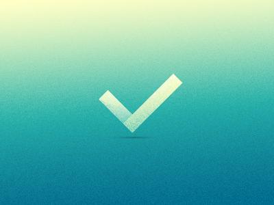 Grainy Checkmark icons user interface icon gradient grainy visual design check checkmark ui ux texture grain