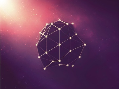 Abstract 3D Stuff cinema geometry network geometric space colorful abstract 3d cinema 4d
