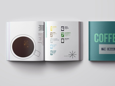 Bachelor Thesis coffee to go cup coffee blue and white pictogram atomic design logo design minimal illustration branding corporate design typography