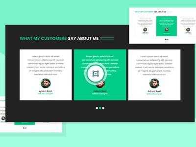 WebStockFinder – Testimonials Template 3 illustration free design templates design templates ui design website ui web header header design branding design