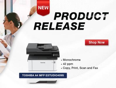 New Toshiba Release company branding promotional design marketing design