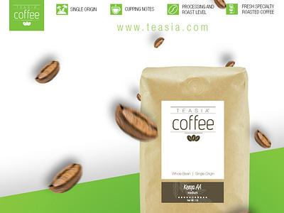 Teasia Coffee - Social Media Post design social media marketing design