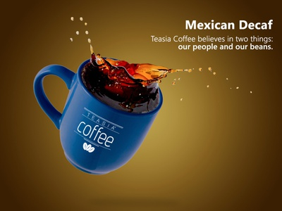 Teasia Coffee - Social Media Pst design social media marketing design