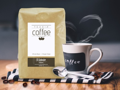Teasia Coffee - Social Media Psot branding social media marketing design