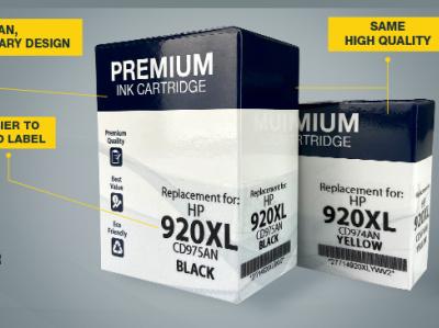 ACM - New Look Inkjet redesign promotional design marketing design