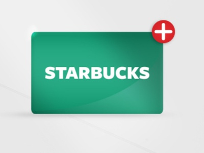 Starbucks GC Add On branding promotional design marketing design
