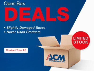 ACM - Open Box Deals branding promotional design marketing design