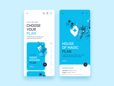 Intellithings minimal typography website app web ronen cohen ui ux branding design