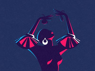Flamenco Dancer minimal design animation spanish spain ronen cohen vector character illustration flamenco flamenco dancer