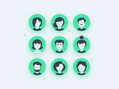 Discount Consultants flat illustrator design app icon ronen cohen animation vector character illustration