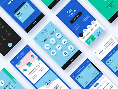 Cal App ronen cohen website ui web app flat ux branding vector design