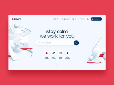 Bituchit typography website web minimal ui ux branding ronen cohen animation design