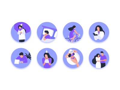 Roomme Icons Set