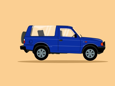 Tata Sierra from Tata Motors automobile motors tata cars artwork vector adobe illustrator cc illustration art illustration clean illustration