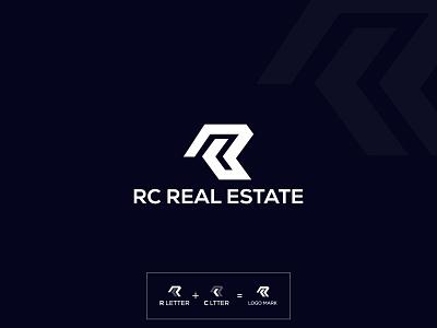 R and C letter Real State Logo logo inspiration monogram logo icon creative branding vector modern logo minimal mark logo