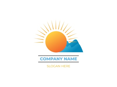Sun logo design | weather logo vectors logodesign logo weather sunny sun vector design branding mark creative