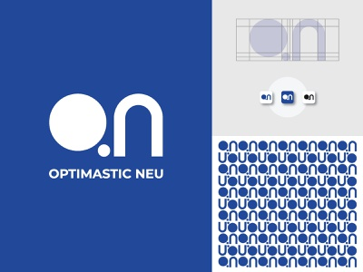 OPTIMASTIC NEU style monogram logomark logodesign logotype illistration logo ideas brand identity logo icon logo inspirations vector mark branding minimal creative