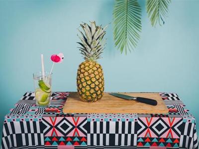 Sneak Peek Photoshoot illustration patterns flamingo tropical photoshoot