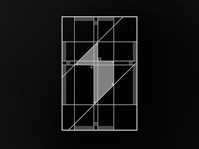"Grids for Artcicle ""01"" logodesign monochrome monogram design monogram logo monograms grid design grid layout grid logo grids grid monogram logos logo design design branding and identity branding brand minimalist minimal logo"