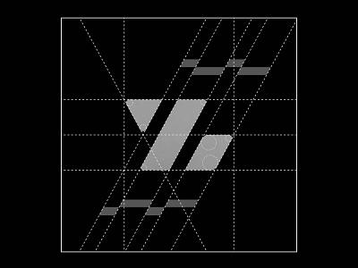 "Grids for article ""02"" grid design grid layout grid logo grids grid monochrome monogram logo monograms logodesign logotype monogram logos logo design design branding and identity branding brand minimalist minimal logo"