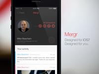 Mergr - iOS7 reboot @2x