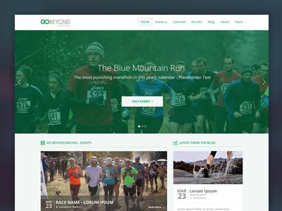 Go Beyond Racing - Homepage @2x