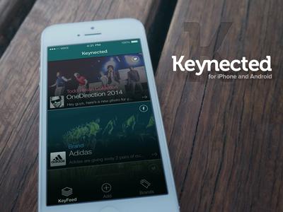 Keynected - Feed Screen @2x