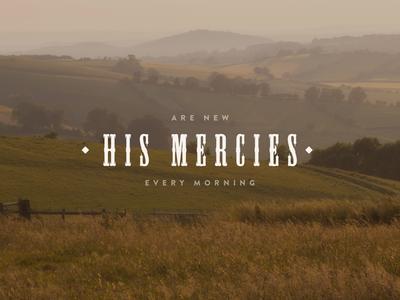 His Mercies Background @2x